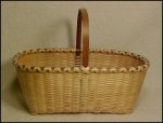 Handwoven Shaker Knife Ash Basket
