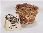 Handmade Makah Indian Basket