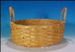 Vintage Woven OAK SPLINT FRUIT BASKET