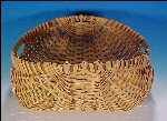 Vintage Woven POTATO / Egg GATHERING BASKET