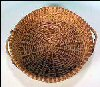 Vintage PINE NEEDLE Basket with Ornamental Pine Cone Handles SOLD!